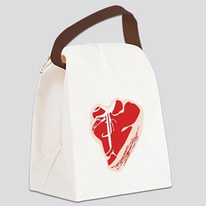 Steak Canvas Lunch Bag